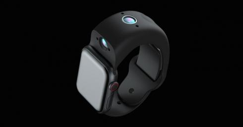 Dây đeo Apple Watch có camera