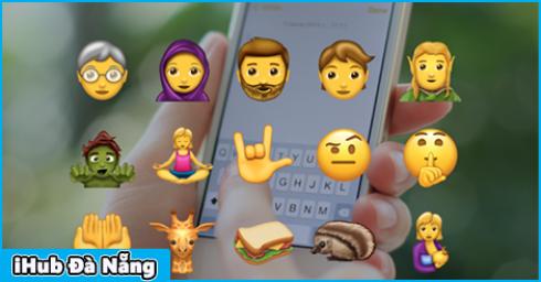 Apple tiết lộ hàng trăm emoji mới cho iOS 11.1