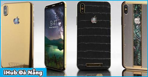 Legend tung ra bộ sưu tập iPhone X xa xỉ, rẻ nhất cũng lên tới 80 triệu đồng