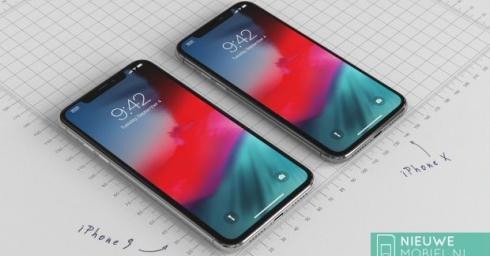 Cùng chiêm ngưỡng iPhone 9 nằm cạnh iPhone X 2018 trong những tấm hình render tuyệt đẹp