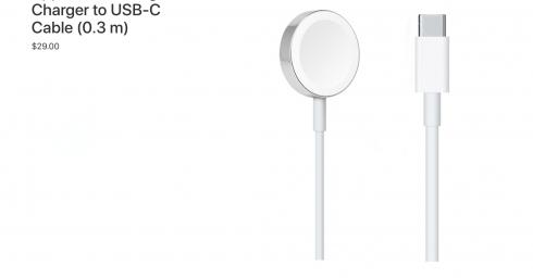 Apple tiến hành mở rộng hệ sinh thái USB-C, bắt đầu với cáp sạc Apple Watch