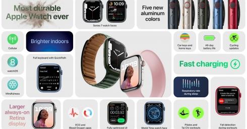 Apple Watch Series 7 chính thức: thiết kế không đổi, màn hình lớn hơn, giá từ 399 USD