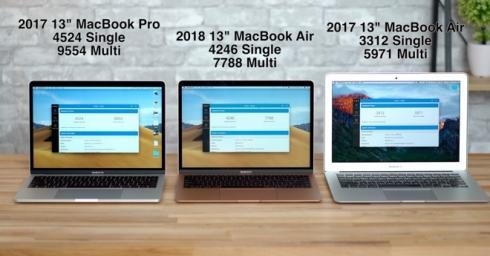 Video: so sánh Macbook Air 2018 và Macbook Air 2017