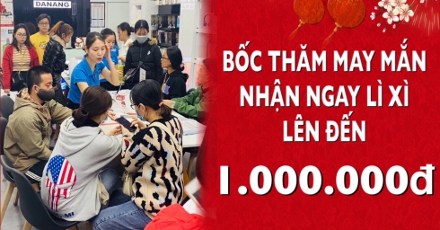 Chào năm mới Trọn Bình An, Ngập tràn quà tặng giá trị tại iHub Đà Nẵng