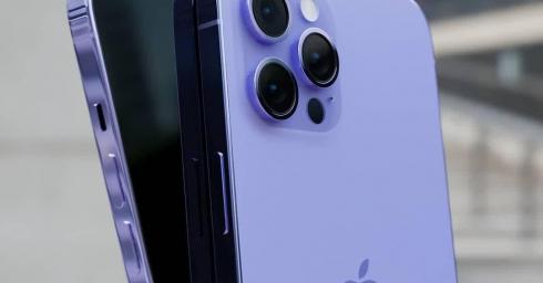 Xuất hiện concept iPhone 13 màu tím đẹp