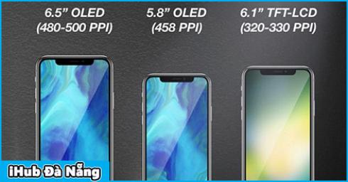 Apple sẽ ra mắt tới 3 iPhone mới trong năm sau: 2 iPhone màn OLED 5,8 inch và 6,5 inch, 1 iPhone màn LCD 6,1 inch, quyết tâm tấn công Android