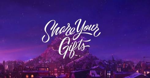 Share Your Gifts - Quảng cáo đầy sáng tạo của Apple nhân dịp lễ hội năm nay