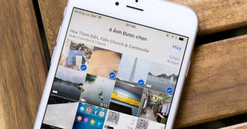 Tổng hợp các cử chỉ nhỏ mà tiện trên iOS: zoom video, chọn nhanh loạt ảnh, mở web đã đóng...
