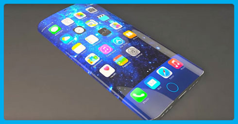 Apple đang phát triển iPhone với màn hình cong và công nghệ điều khiển qua cử chỉ