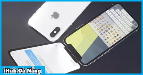 """Trải nghiệm iPhone X """"nắp gập"""": Ý tưởng cực kỳ độc đáo nhưng liệu iFan có hứng thú?"""