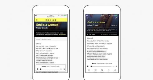 Genius chọn Apple Music làm dịch vụ nghe nhạc chính thức, đồng bộ thư viện lời nhạc vào ứng dụng