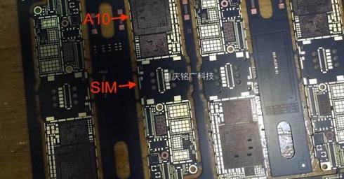 Đây là bo mạch chủ của iPhone 7?