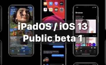 Apple phát hành iPadOS và iOS 13 Public beta, bản thử nghiệm công khai đầu tiên dành cho tất cả người dùng
