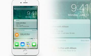 3 cách đơn giản giúp việc thao tác ở màn hình khóa trên iOS 10 trở nên dễ dàng hơn