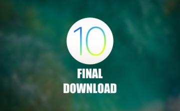 Tổng hợp link download iOS 10 Final, mời tải về