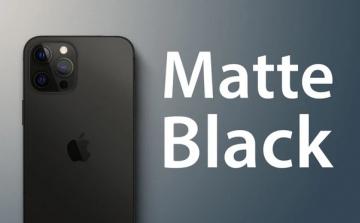 iPhone 13 Pro sẽ có màu đen nhám, lần đầu tiên sử dụng cảm biến LiDAR để chụp chân dung