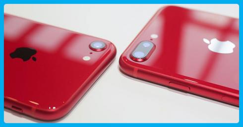 HOT: Trên tay iPhone 8 RED và iPhone 8 Plus RED đầu tiên trên thế giới