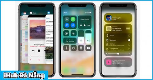 Cơ chế chuyển đổi qua lại giữa các ứng dụng hoàn toàn mới trên iPhone X