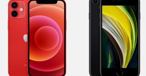 So sánh iPhone 12 Mini với iPhone SE 2020