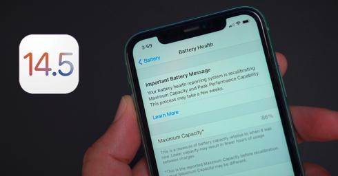 Bên cạnh các tính năng mới, iOS 14.5 sẽ khắc phục tình trạng hao pin và giảm hiệu năng trên dòng iPhone 11