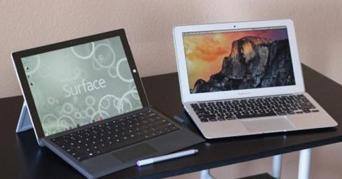 Trận chiến khốc liệt giữa Microsoft và Apple ở mảng máy tính tại Mỹ